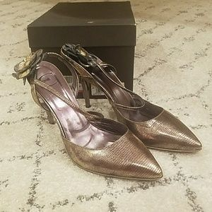 Just Cavali Champagne shoes